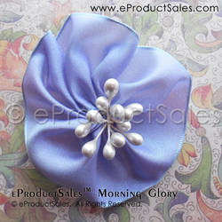 Purple Morning Glory Flower Hair Clip Accessories