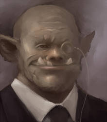 Sophisticated orc