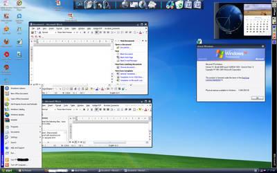 My Windows XP Service pack 1 Desktop by alecu222