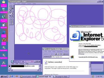 Tiffany's Windows 2000 Desktop by alecu222