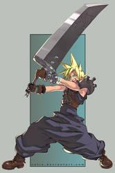 Cloud - Final Fantasy VII by satie