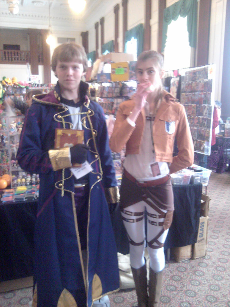 Two More Cosplayers by landra15