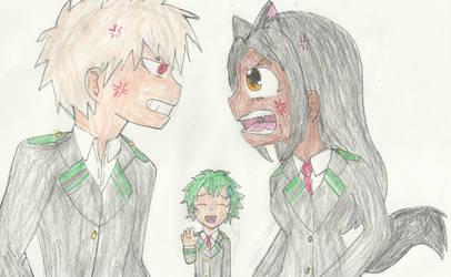 Stop bullying Deku!