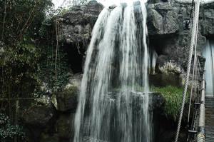 waterfall bridge effect by Necrath