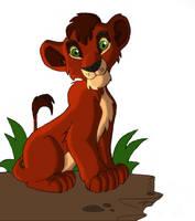 Kovu - Lion king by Necrath