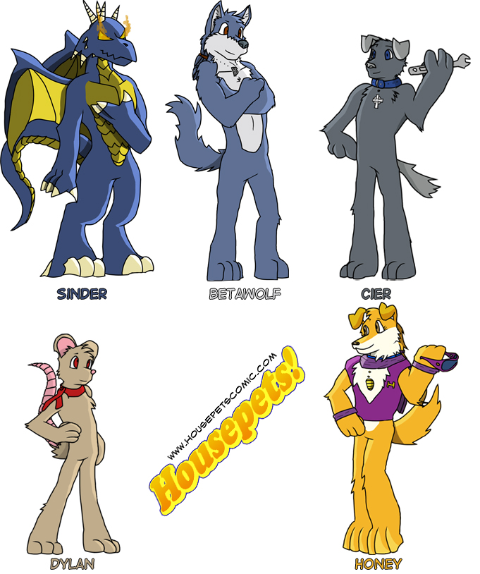Housepets Style Fan OOC's by Necrath