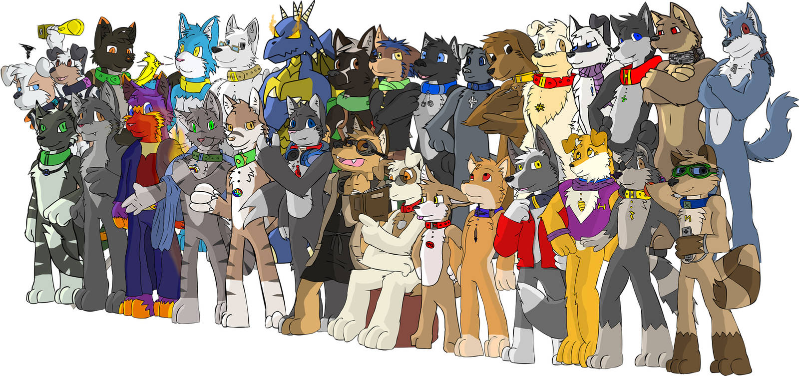 Housepets OOC group picture by Necrath