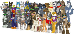 Housepets OOC group picture