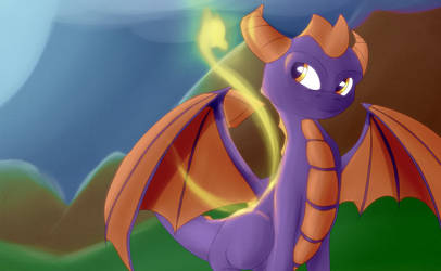 Spyro - Skylander Academy by Necrath