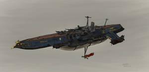 Armed aerial steamship Cygnet