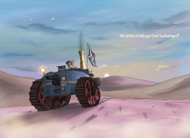 Republic of Mel=Pazel Midium tank Sultan by AoiWaffle0608