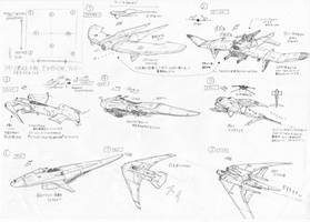 Gliders Concept for 30min anime project by AoiWaffle0608