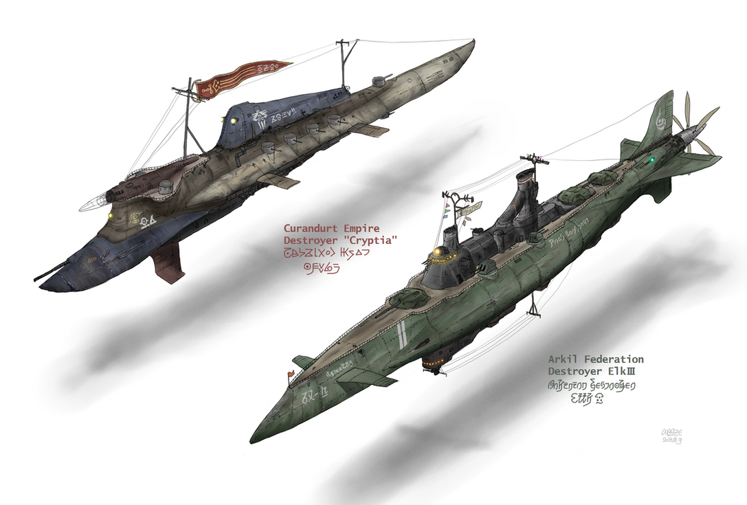 Destroyers of 2 Great powers by Waffle0708