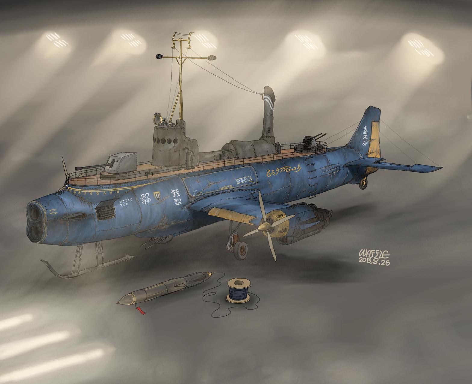 Anti Ship Torpedo boat Catena by Waffle0708