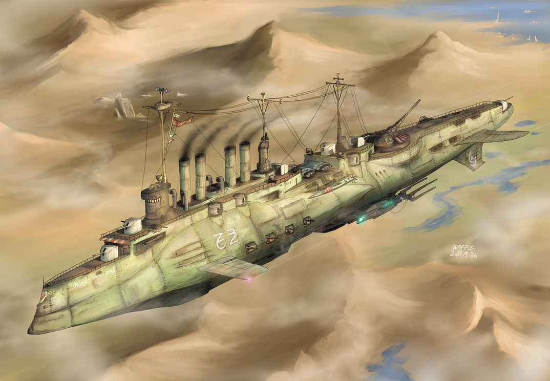 Attack Cruiser Tripla by AoiWaffle0608