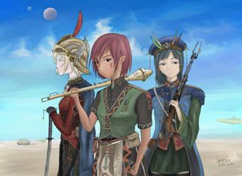 Anti Empire Girls by AoiWaffle0608