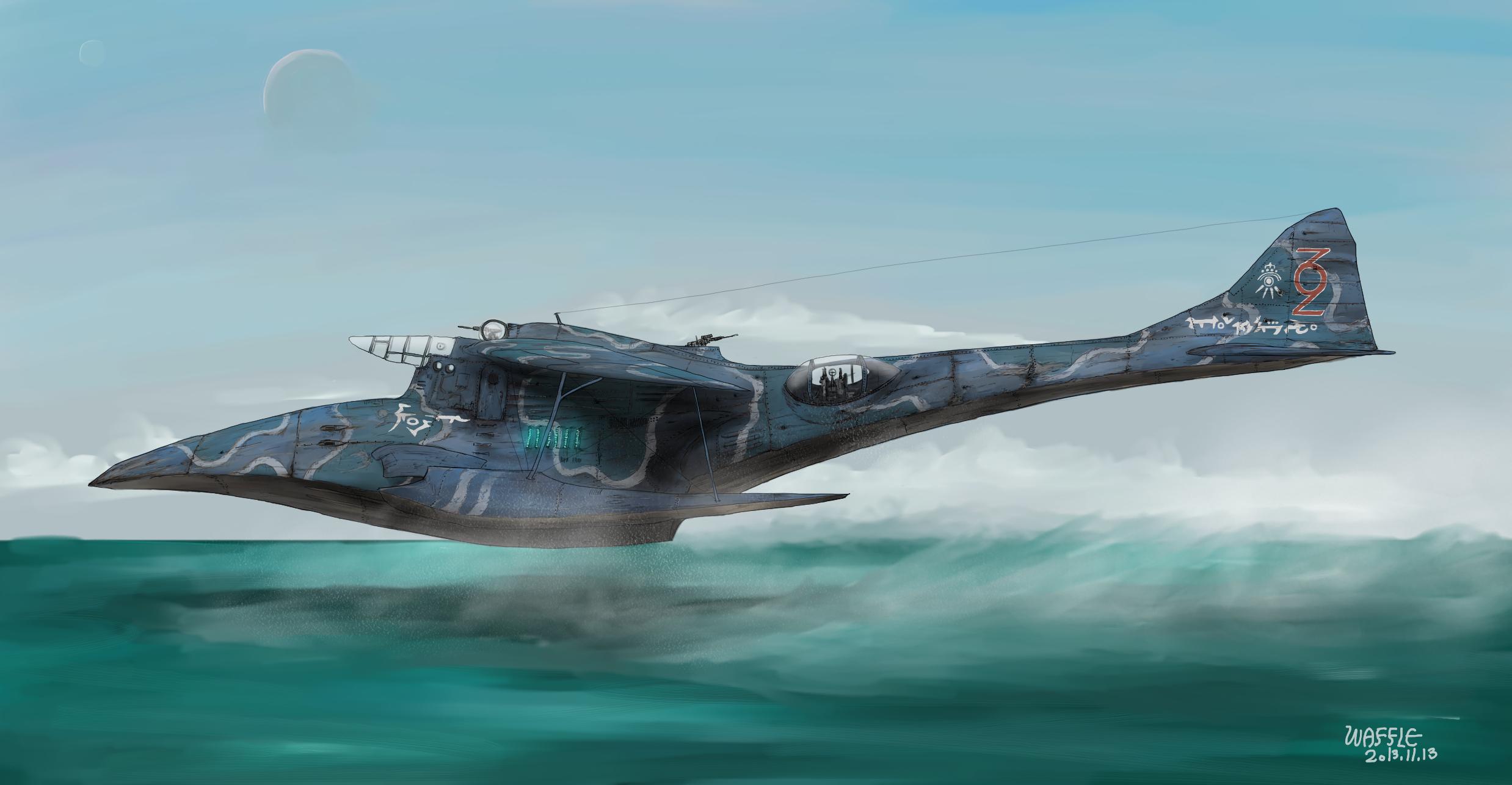 Heavy intercepter Etupirka by Waffle0708