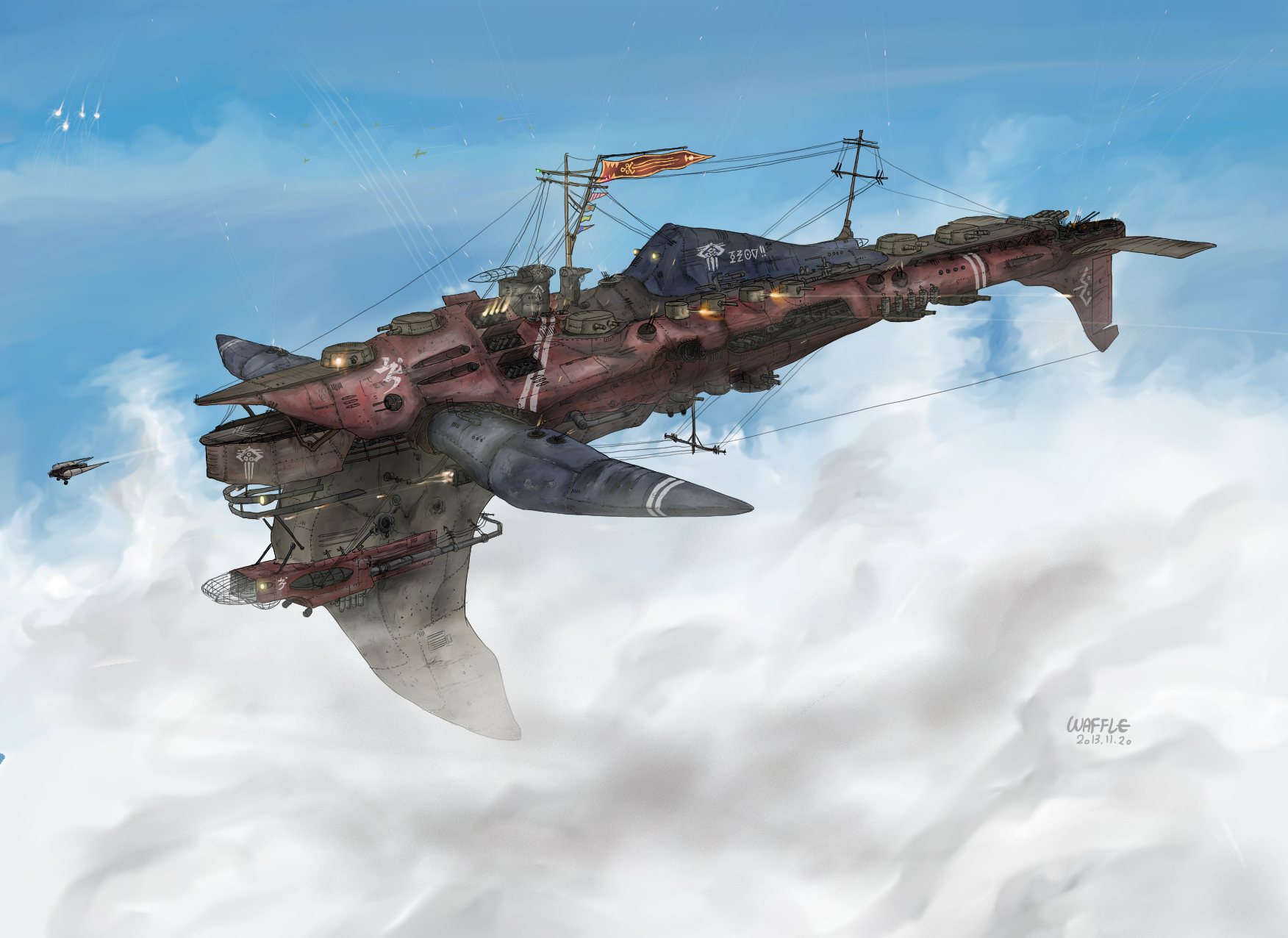 Imperial Fleet Heavy Cruiser, Arbalestia by Waffle0708