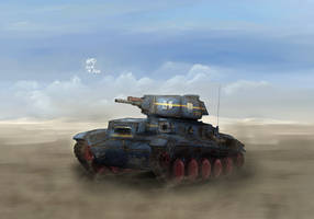 MelPazelian Fire Support Vehicle Janissary by AoiWaffle0608