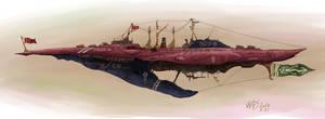 Greyhien-Class Imperial Battleship