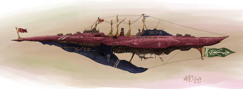 Greyhien-Class Imperial Battleship by AoiWaffle0608