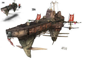 Imperial Destroyer Garle by AoiWaffle0608
