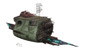 Hurriedly constructed defence ship Type-27