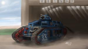 MelPazelian Heavy Tank Triarii - Prototype by AoiWaffle0608