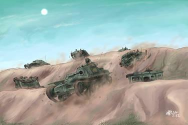 Impressive!! Federation's Blitzkrieg!! by AoiWaffle0608