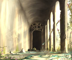 Deepest area of Ancient ruin by AoiWaffle0608