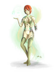 Ancient android Seizei Lizel by AoiWaffle0608