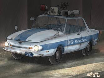 Mel Pazelian Police car (600's) by AoiWaffle0608