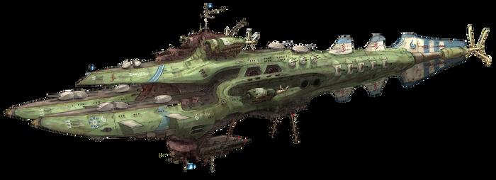 8th Fleet Flagship Zidlant
