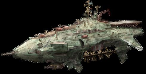 7th Fleet Flagship Battlesniper Yirasie by AoiWaffle0608