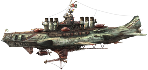 3rd fleet flagship heavy bombketch Noigelie