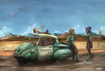 Arkilian Police by AoiWaffle0608