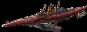 Greyhien class Battleship by AoiWaffle0608