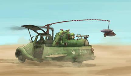 Combat training by AoiWaffle0608