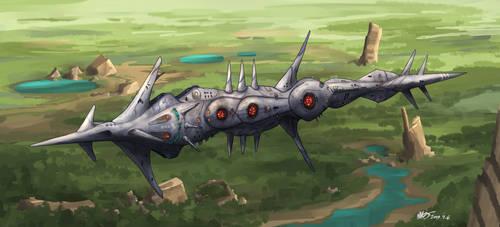 Ancient clockwork Leviathan