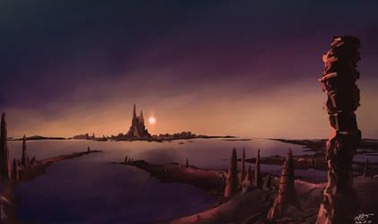 Forgotten tower world