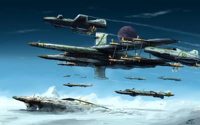 Aerial lancer by AoiWaffle0608