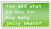 How many jelly beans? by stoopidgenious