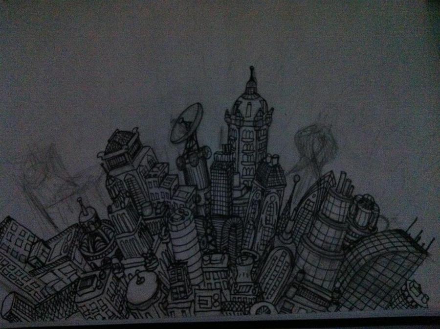 city by ChristianCheker