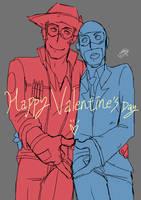 2012 happy valentine's day again. by ShiyakuSarutobi