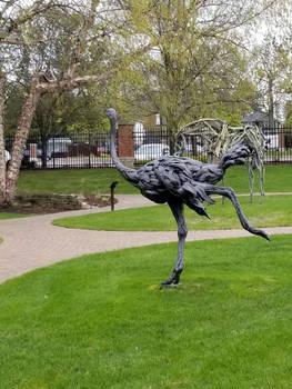 Ostrich Statue 2