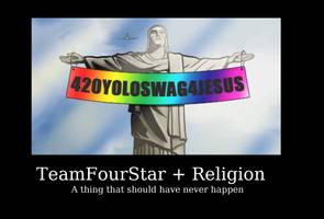 TeamFourStar Motivational Poster