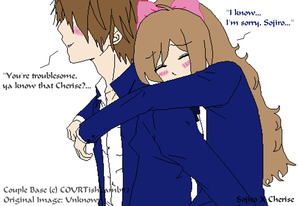 Sojiro Carrying Cherise by COURTishLamb92