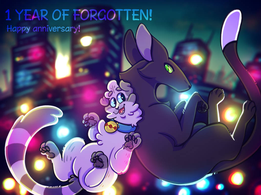 1 YEAR OF FORGOTTEN