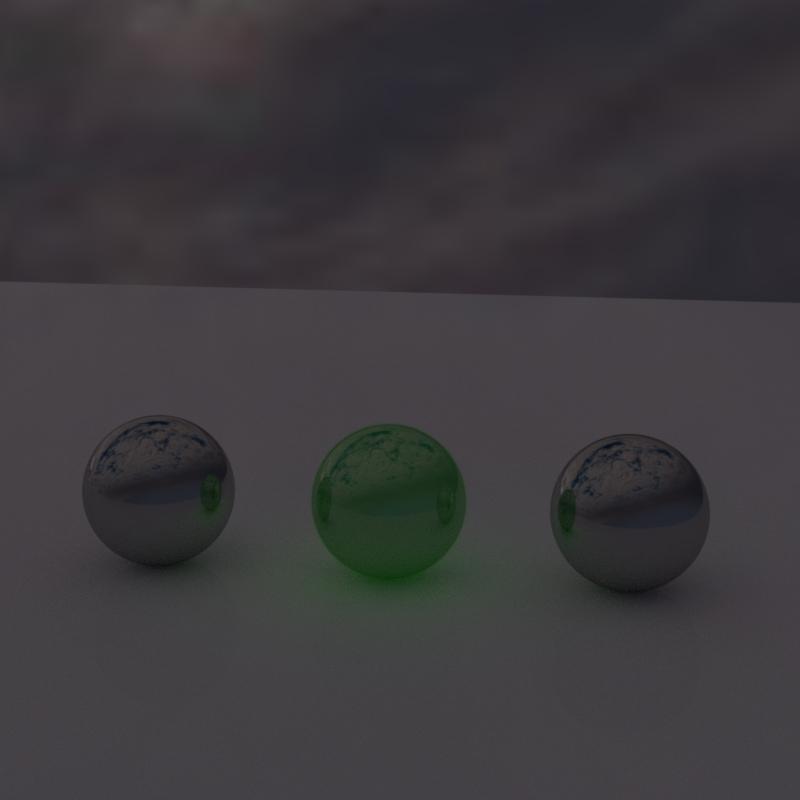 Emissive Reflective Test by TabascoJack