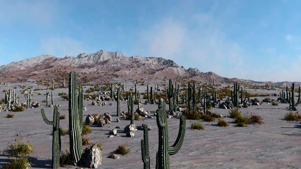 Desert Mountain by TabascoJack